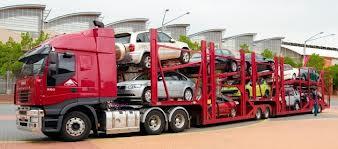Ett biltransportsläp